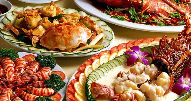 Nhà hàng cung cấp nhiều món hải sản tươi ngon
