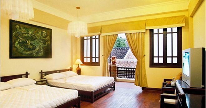 Phòng Deluxe của khách sạn An Huy Hội An