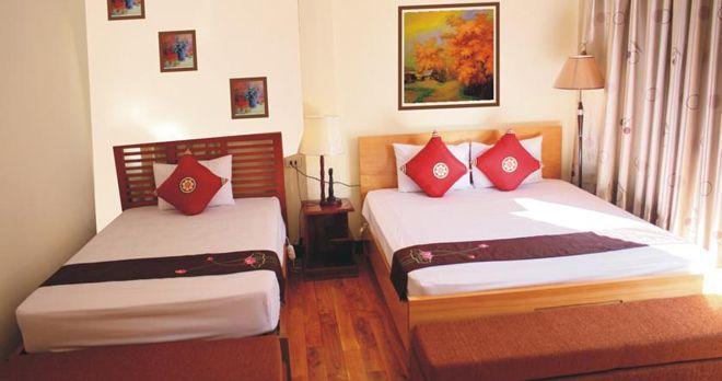 Phòng gia đình khách sạn Cozy Sapa