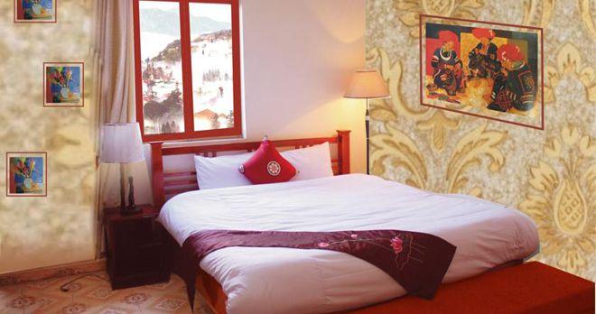 Phòng tiêu chuẩn 1 giường đôi của khách sạn Cozy Sapa