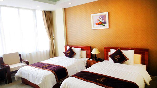 phòng ngủ khách sạn Mely Cầu Giấy